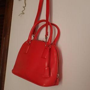 Express Crossbody red bag